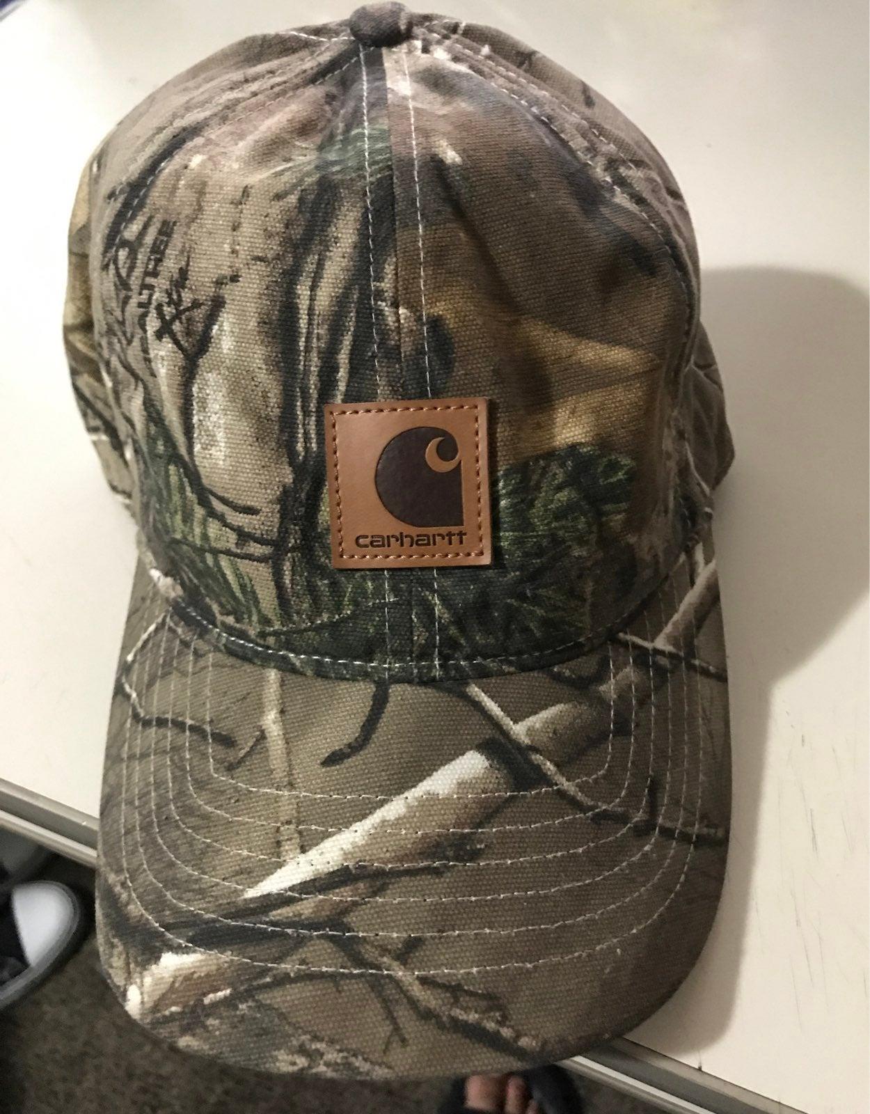 Carhartt Hat camo baseball hat