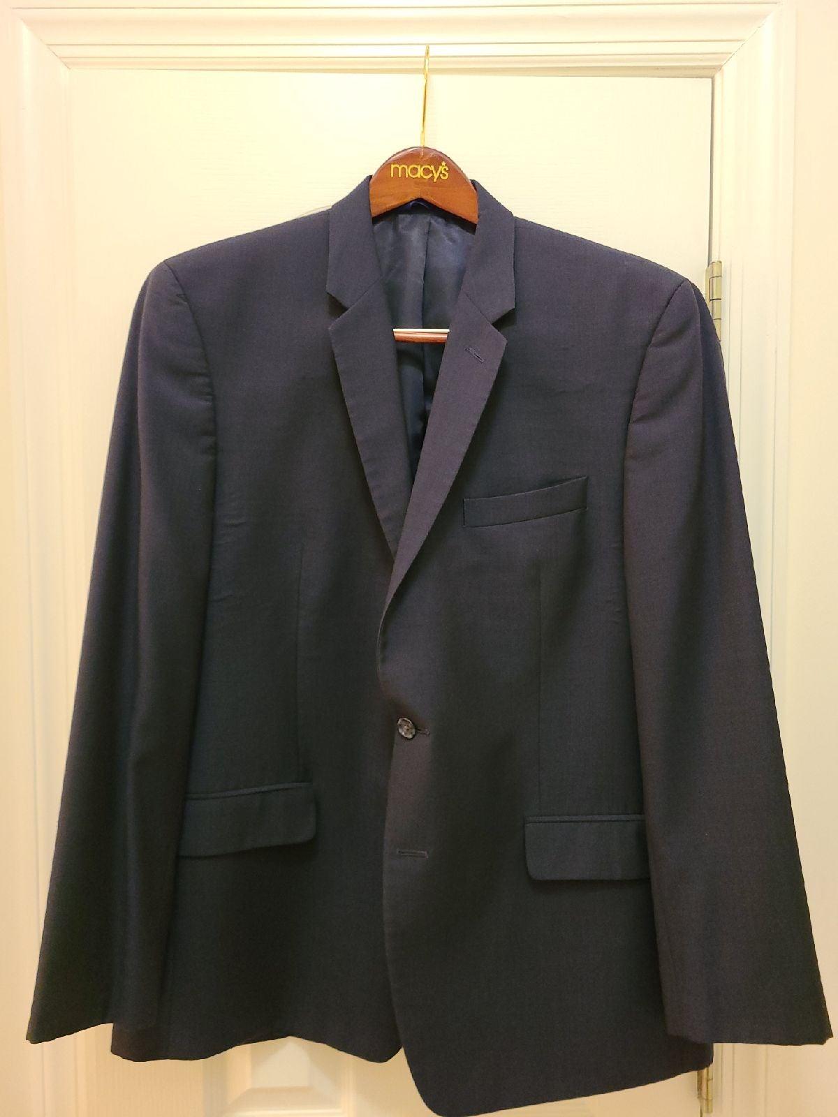 Men's Alfani Suit Jacket Navy Blue | 44R