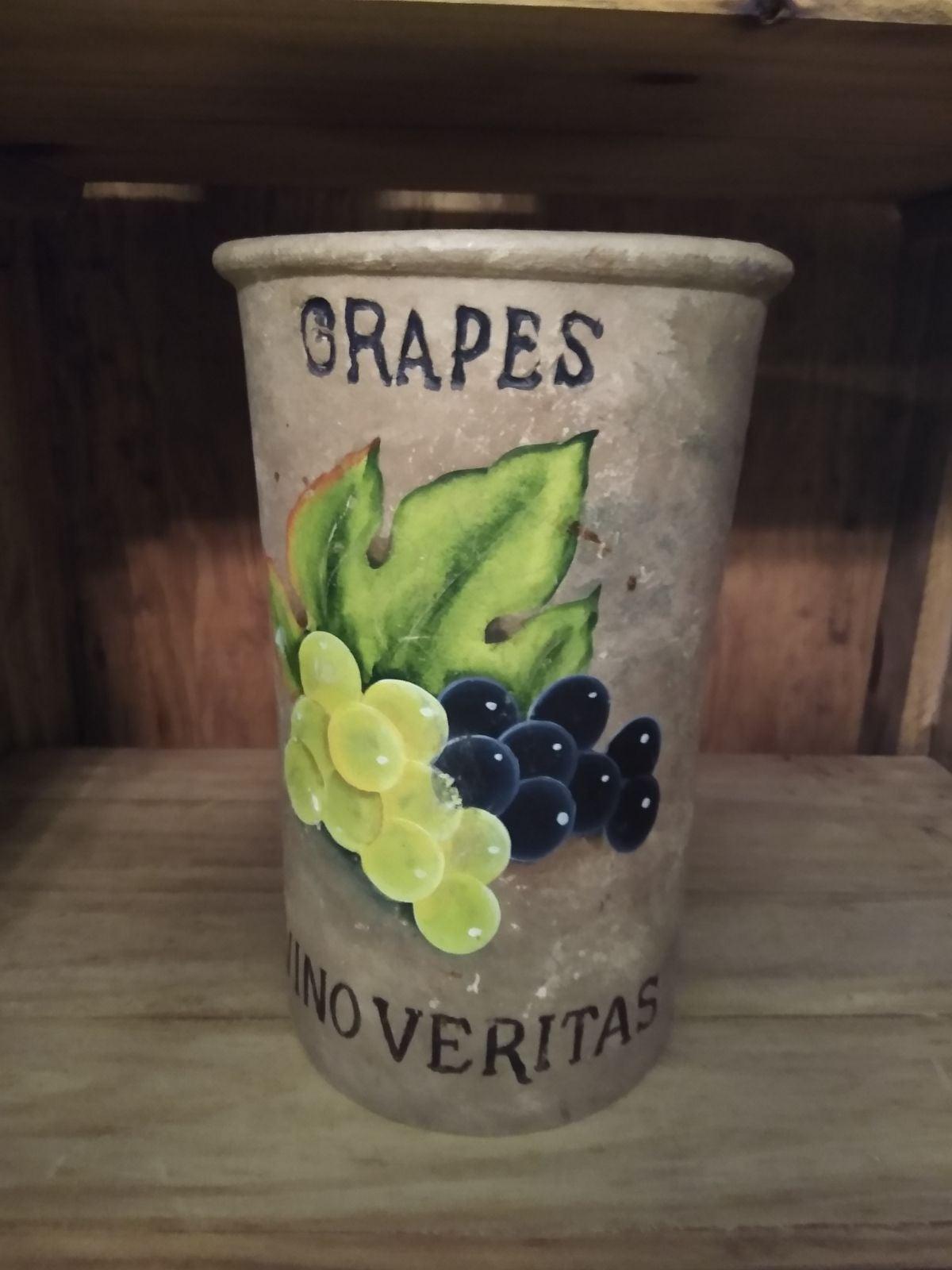 Stone vase/utensil holder