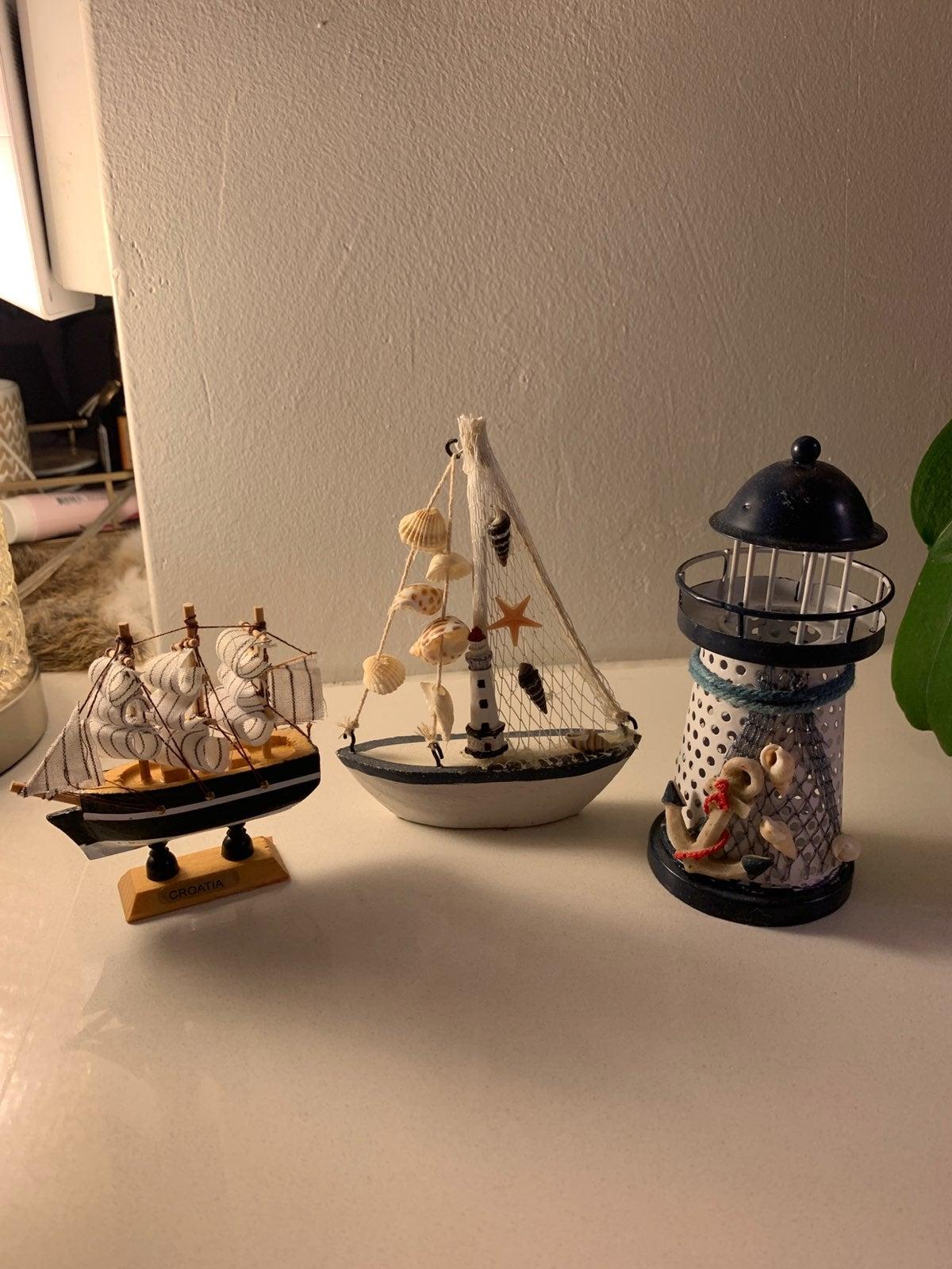 Handmade navy set from croatia
