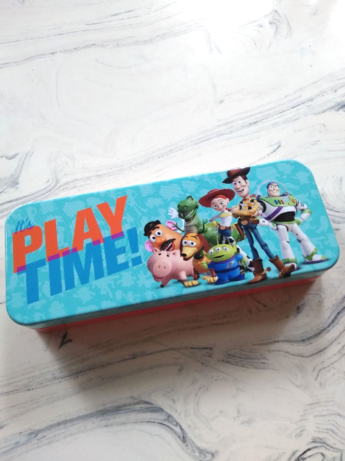 """8"""" New Toy Story Pencil Case Metal box"""
