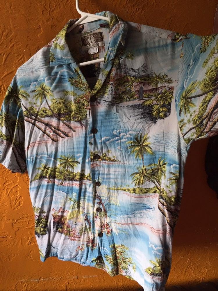 Hawaiian Shirt RJC Kalaheo Size Small