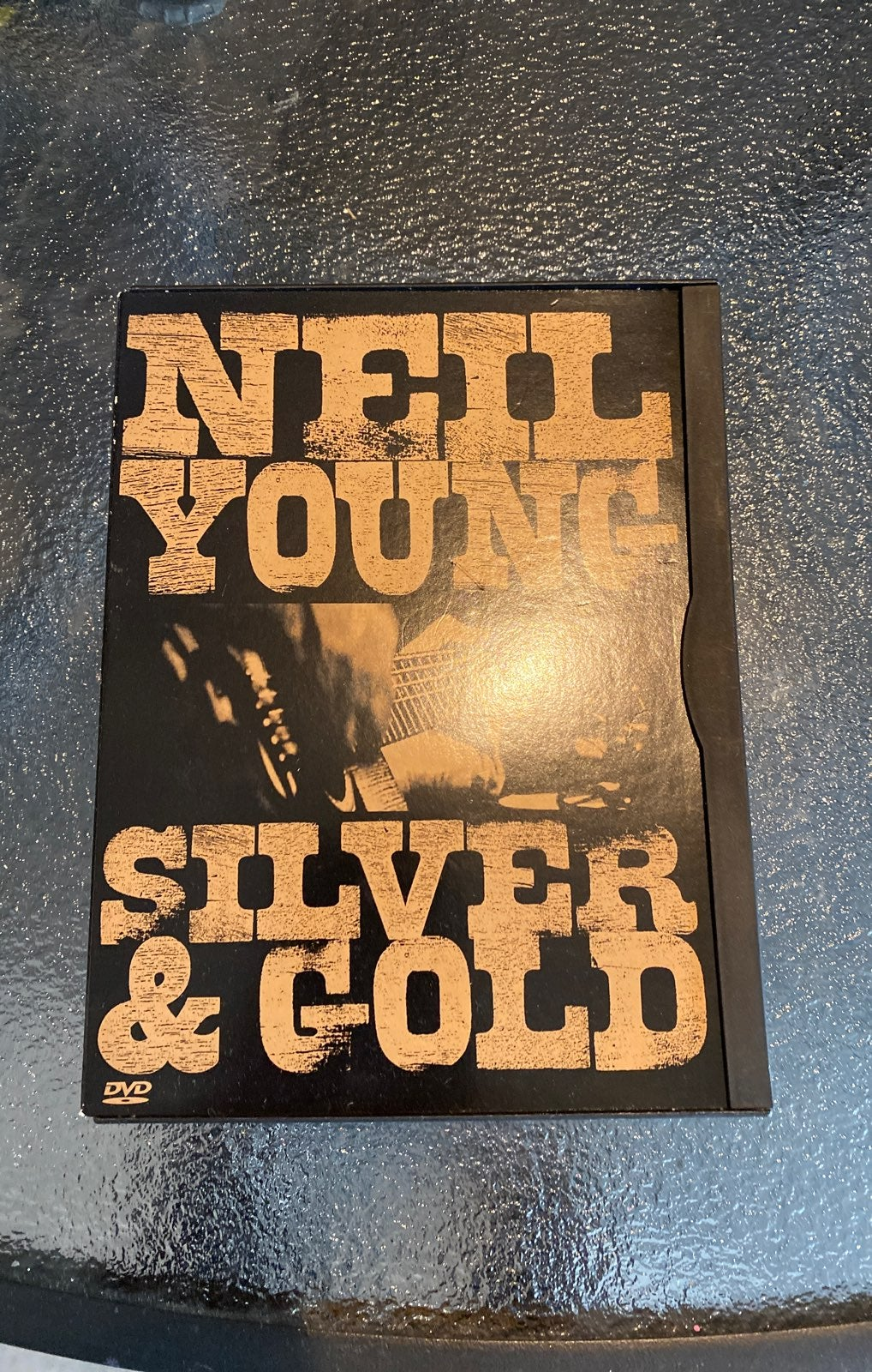 Neil young silver and gold DVD. EUC