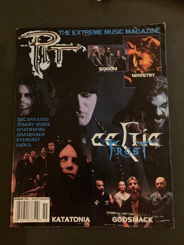 Pit Magazine No.55 Celtic Frost Sodom Mi
