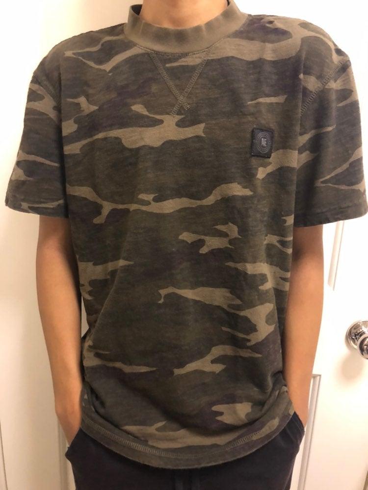 American Eagle Camo Shirt