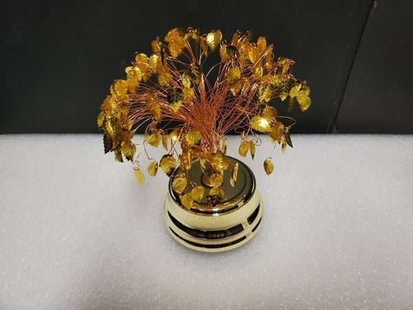 Retro Musical Golden Leaf Tree - Copper
