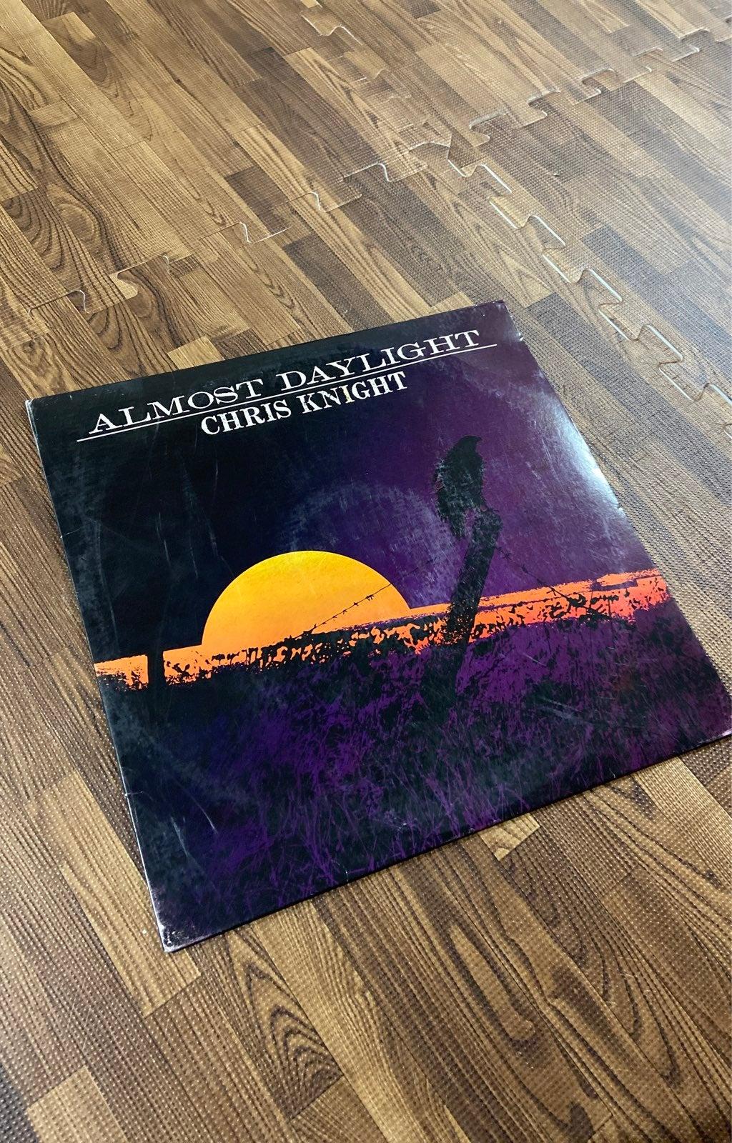 Almost Daylight Chris Knight Vinyl