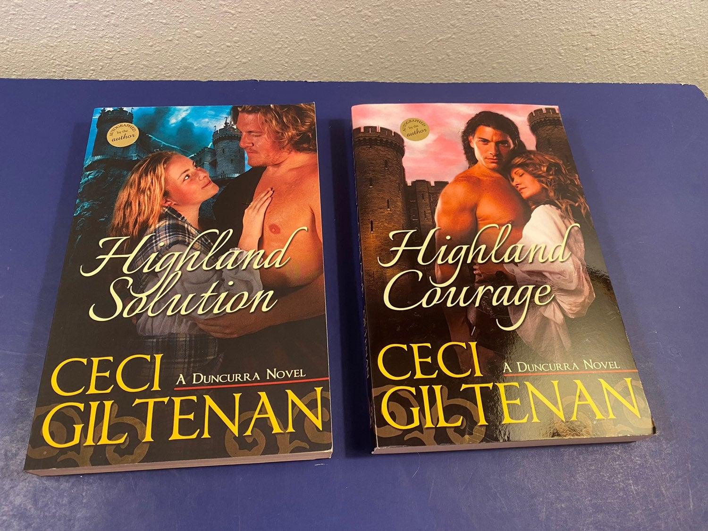 Ceci Giltenan Novels Autographed