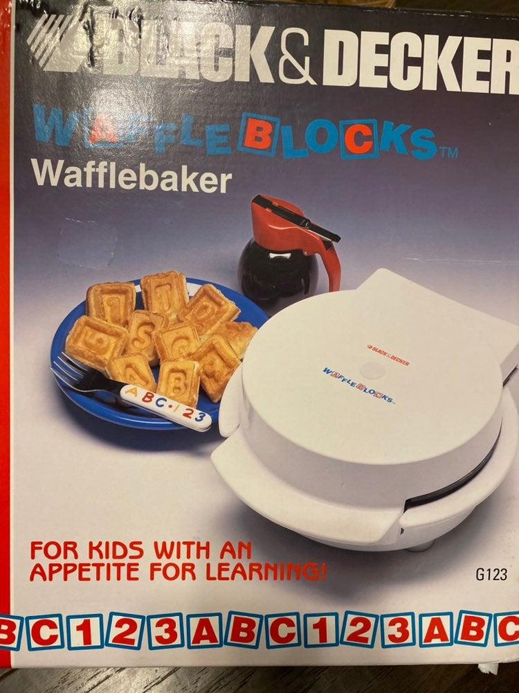 Wafflebaker Black & Decker