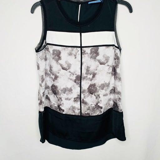 Simply Vera floral sleeveless blouse siz