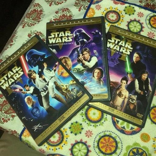 Star Wars Theatrical Trilogy DVD