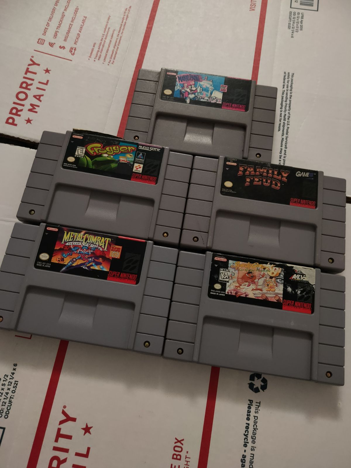 SNES game lot