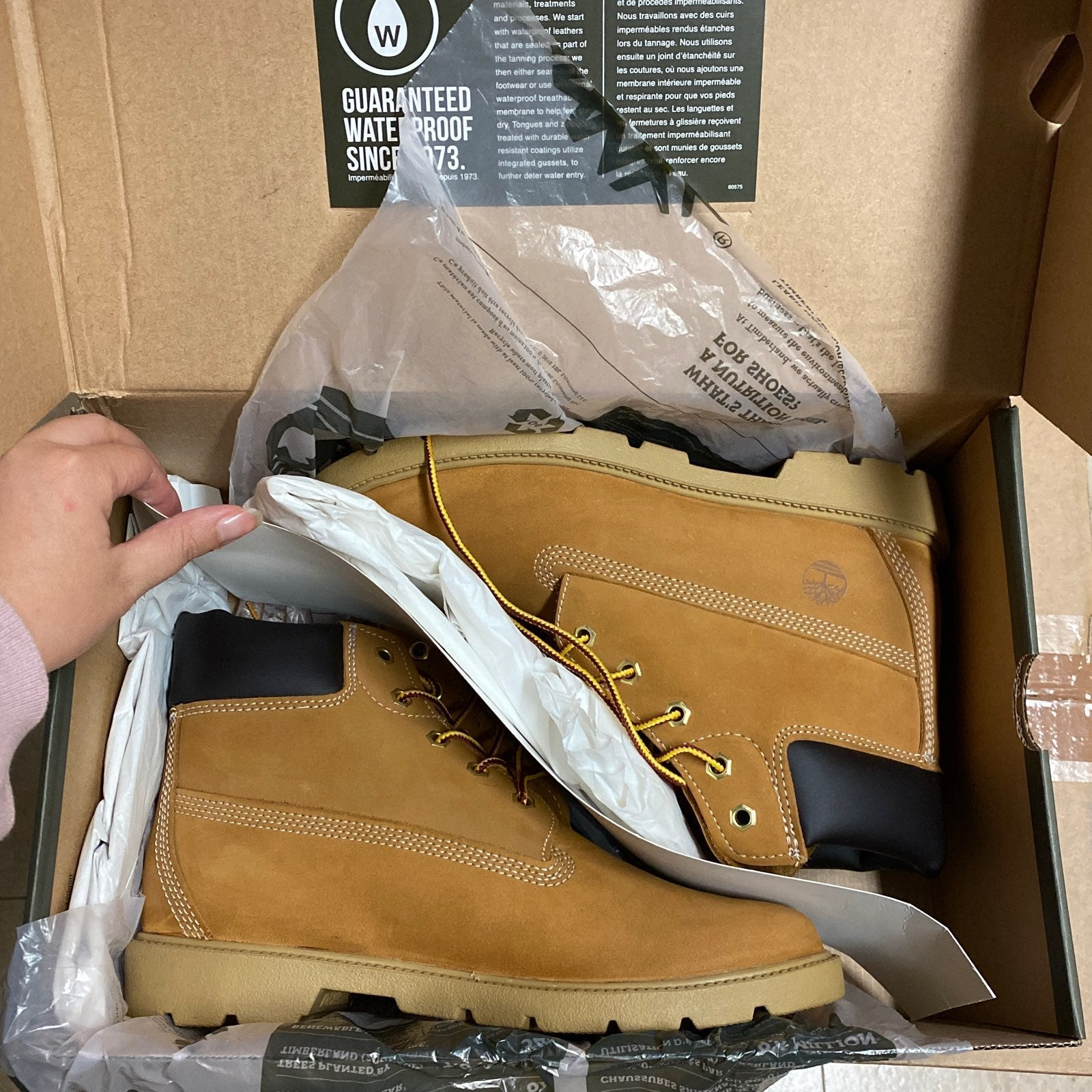 Timberland boots big kids 6y