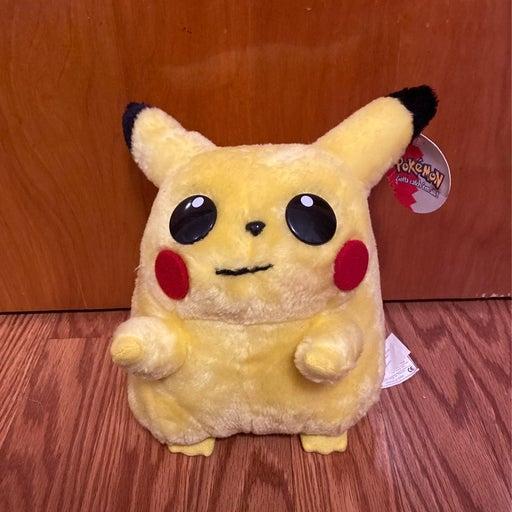 pikachu plush with tags