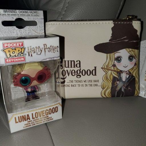 Luna Lovegood Keychain & Coin Purse