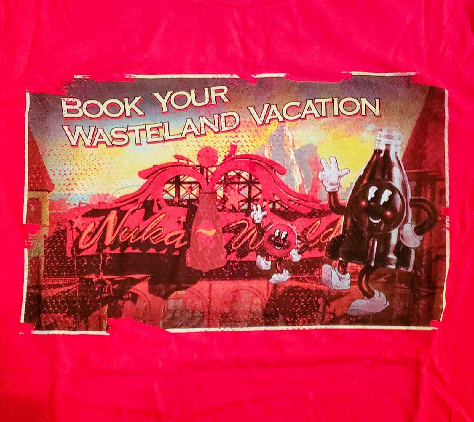 Fallout Wasteland Vacation T-Shirt S