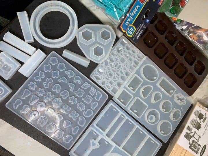 Bulk Resin Molds and Supplies