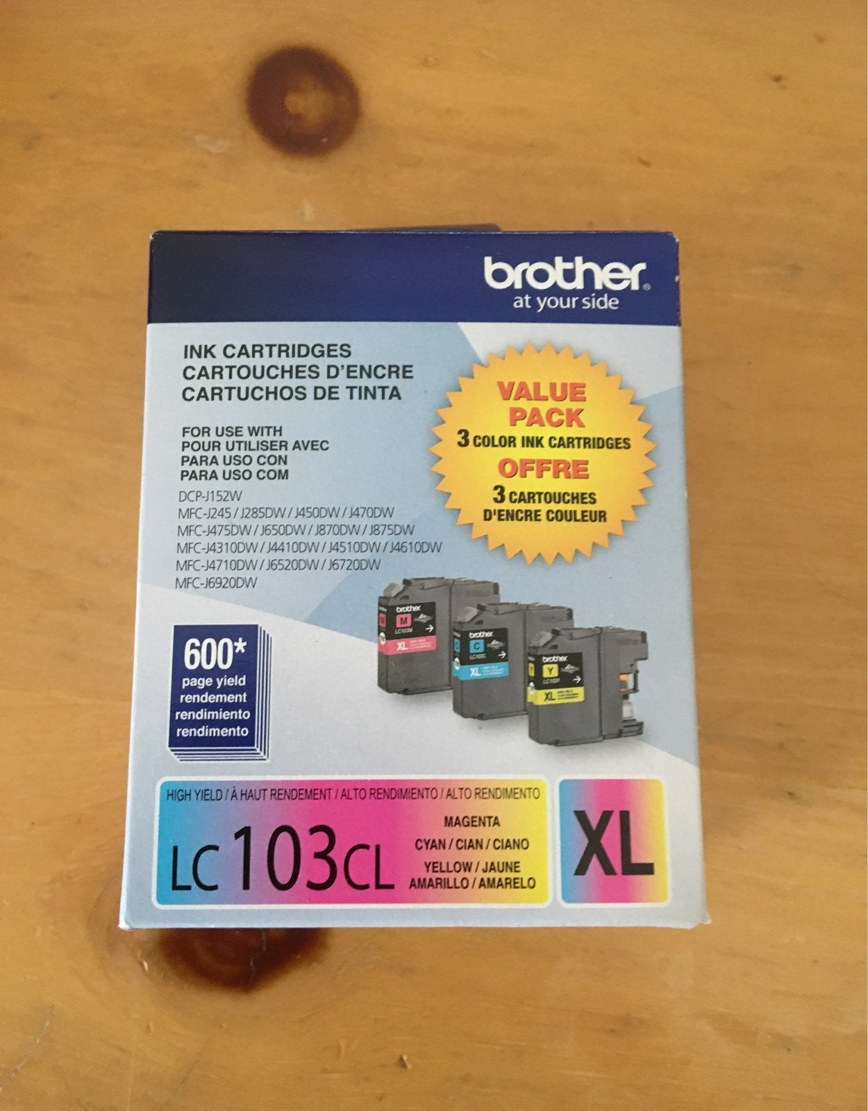 Brother LC103CL XL Ink