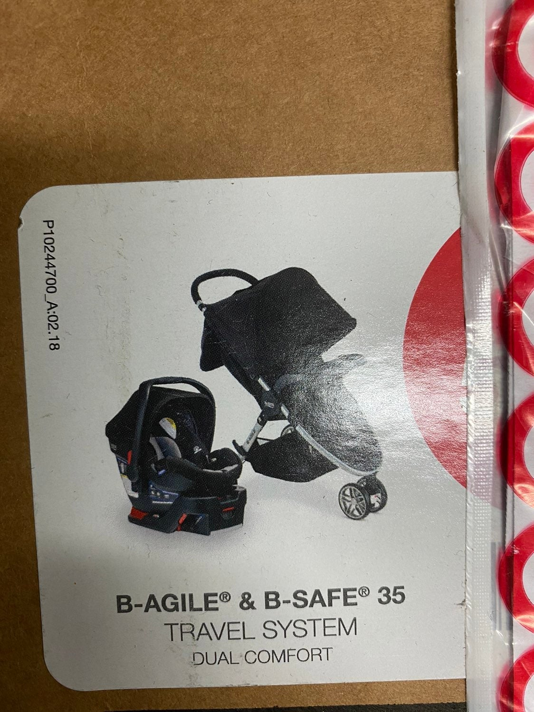 Britax B-safe 35 travel system