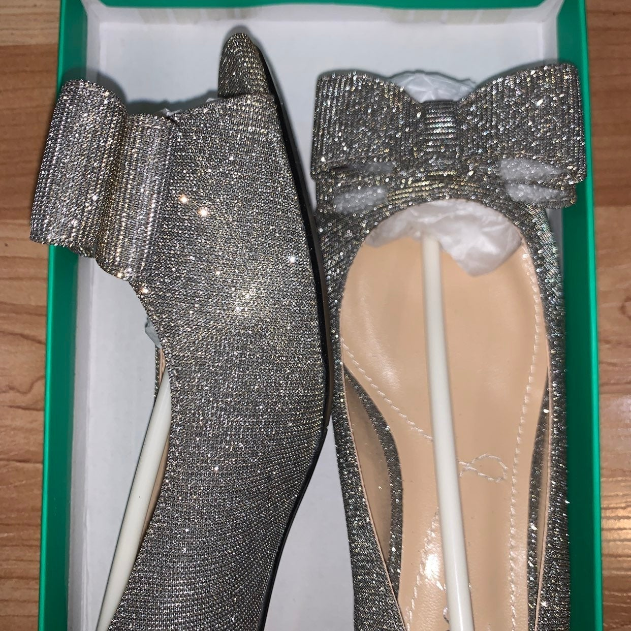 J. Reneé Glitter Heels 7.5