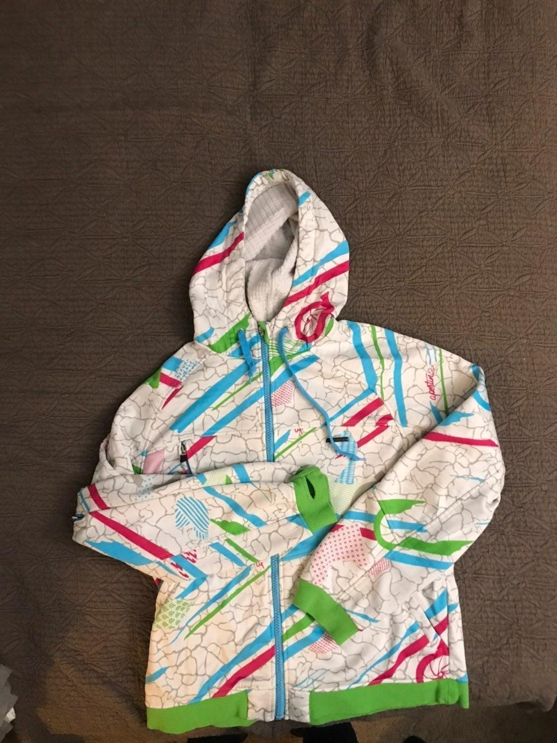 Aperture winter hoodie