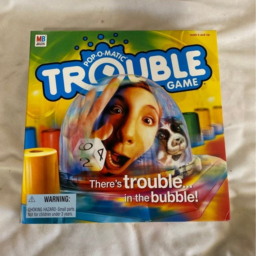 Hasbro trouble Pop O Matic game New