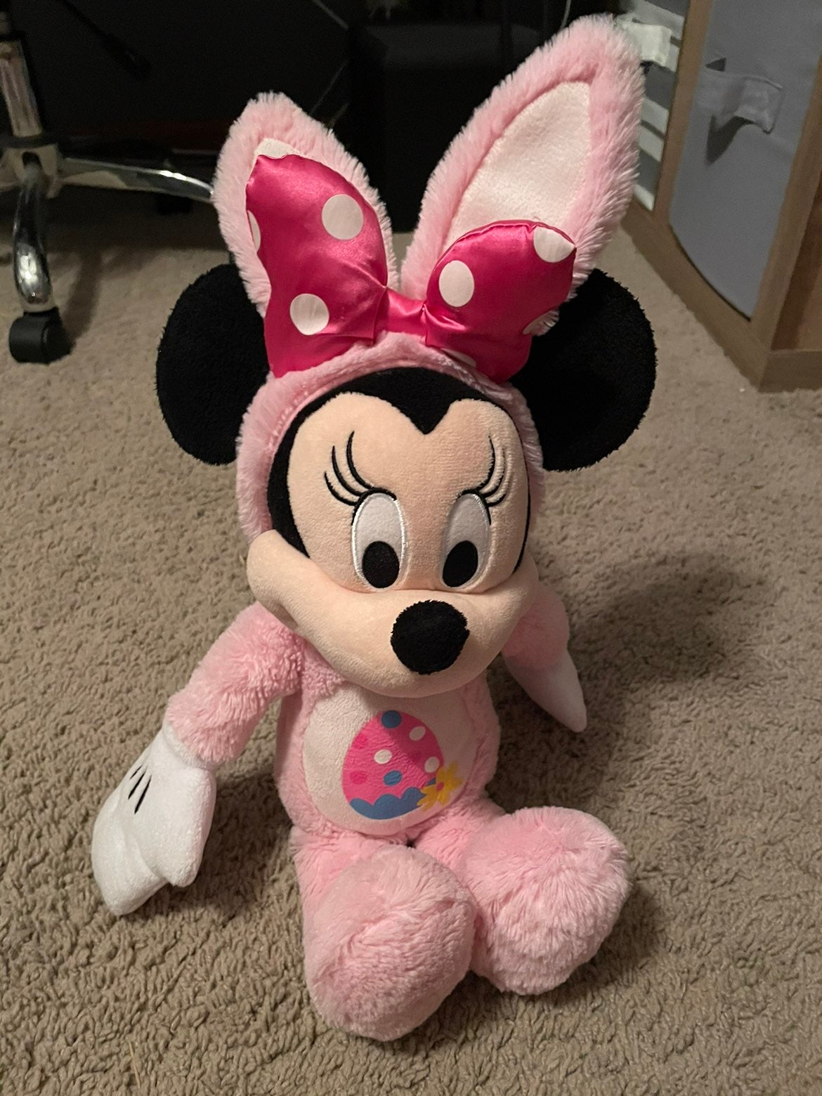 Disney Minnie Mouse Easter Plush