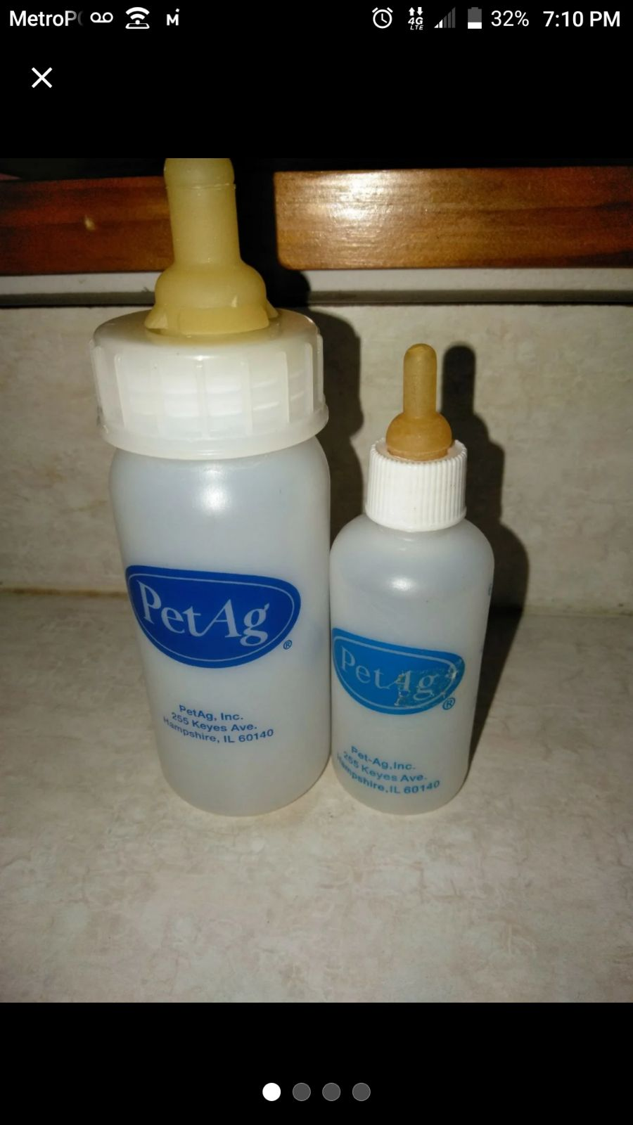 PetAg Animal Nursing Bottle *Sterilized*