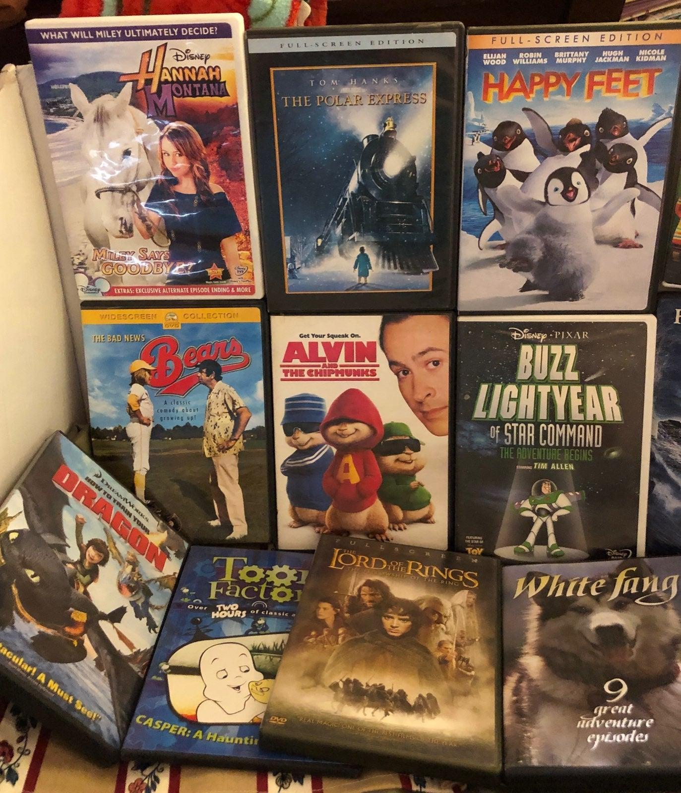 17 family/kids dvd movie lot Del. Incl.