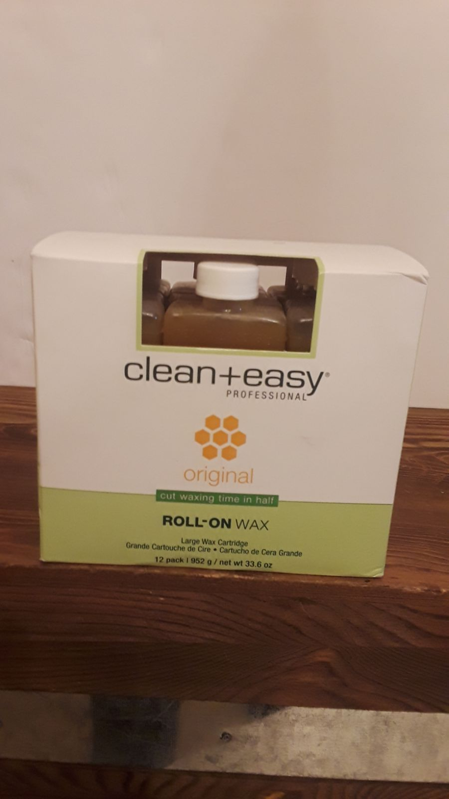 CLEAN & EASY WAX REFILL 12pack