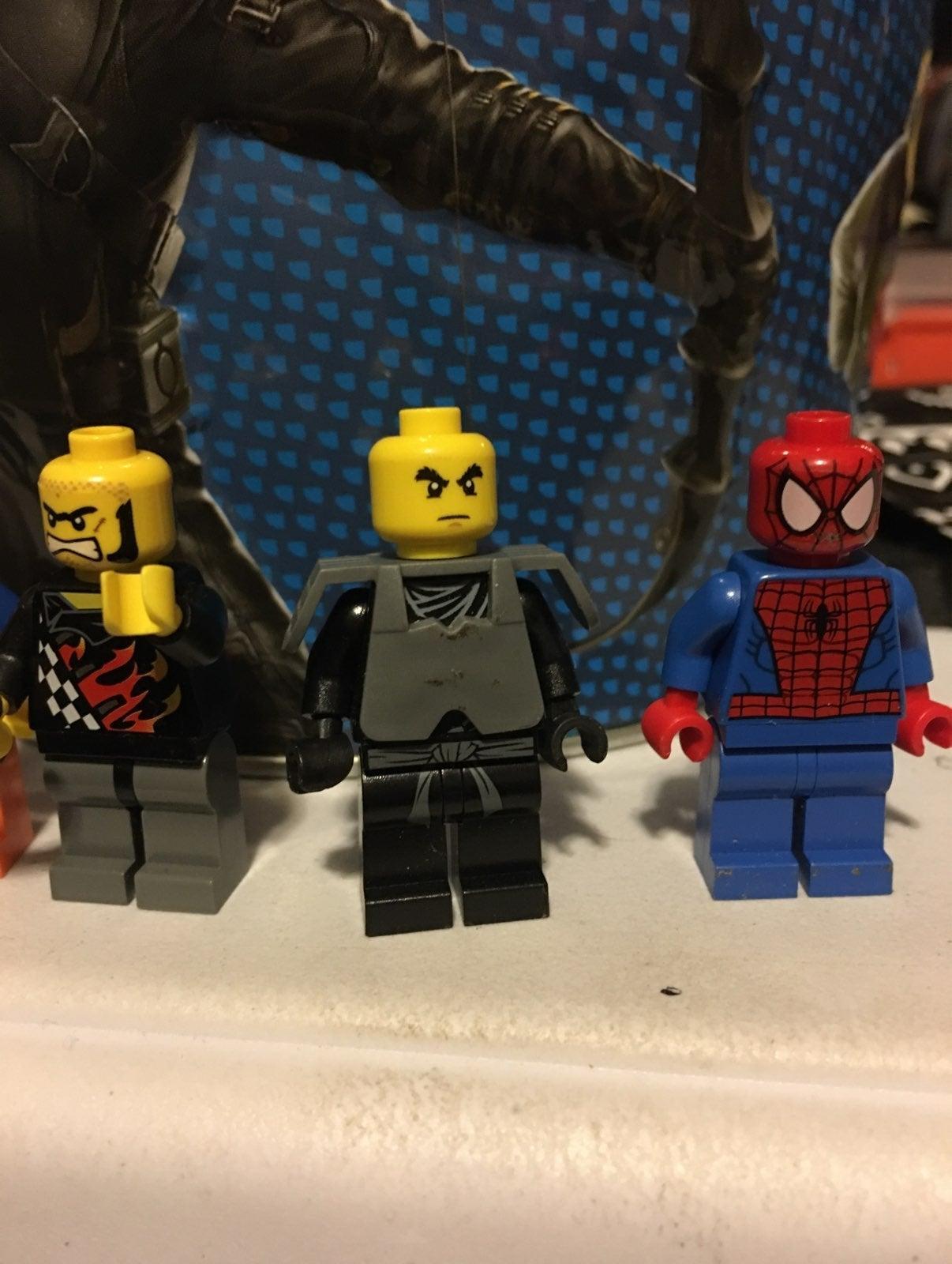LEGO spiderman lot