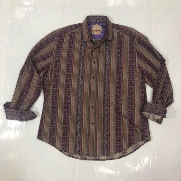 Robert Graham men's cotton/silk Shirt