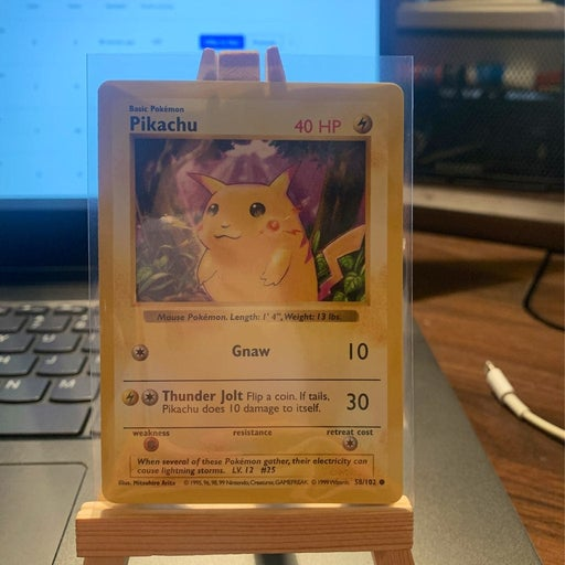 Pikachu 58/102 Red Cheeks