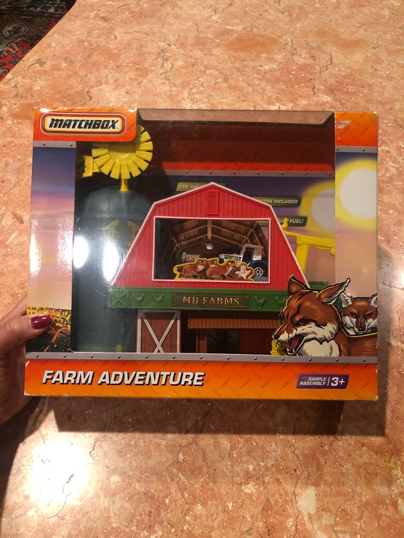 Vintage matchbox farm adventure collecti
