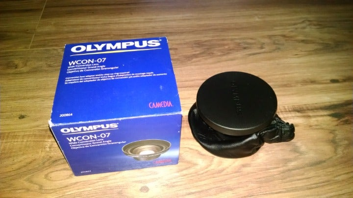 Olympus WCon 07 wide conversion lens
