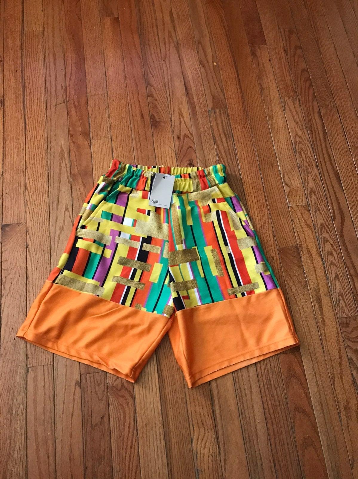 NWT ASOS Mens Shorts SzXS