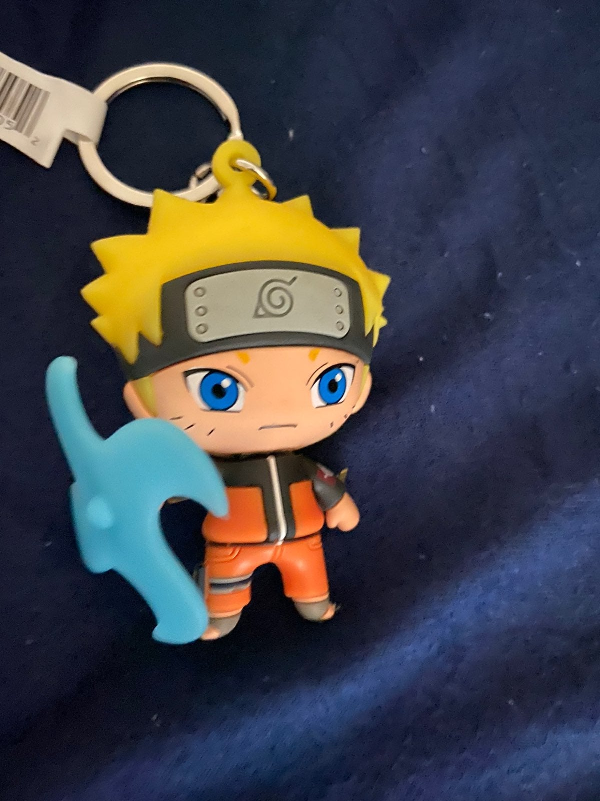 Naruto figural key ring