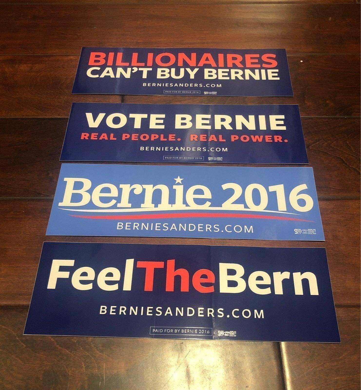 Bernie Bumper Stickers