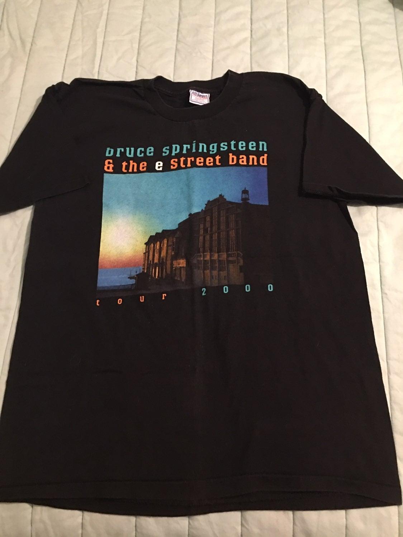 2000 Bruce Springsteen concert t shirt