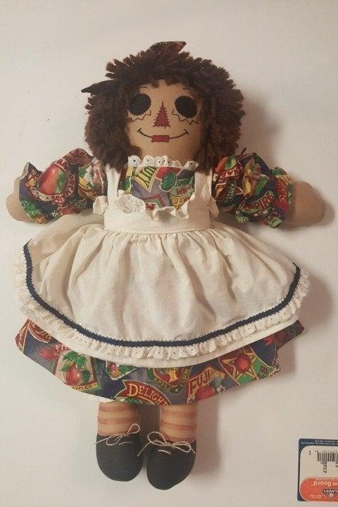 Raggedy Ann Doll   100% hand made.