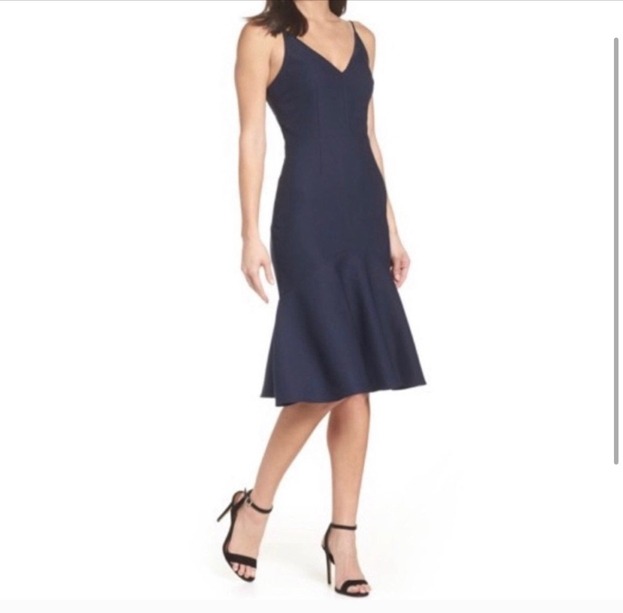 Cooper St Azalea Ruffle Hem Midi Dress