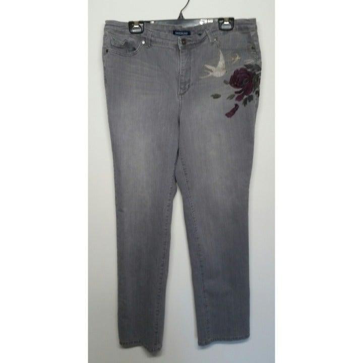 Bandolino Strait Leg Jeans Size 14