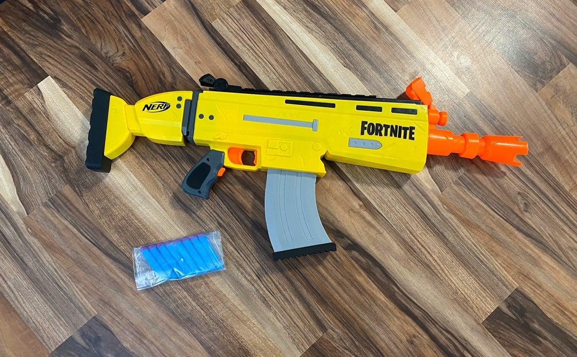 Fortnite AR-L elite nerf dart blaster