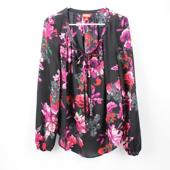 Kirna Zabete At Target Floral Blouse Top