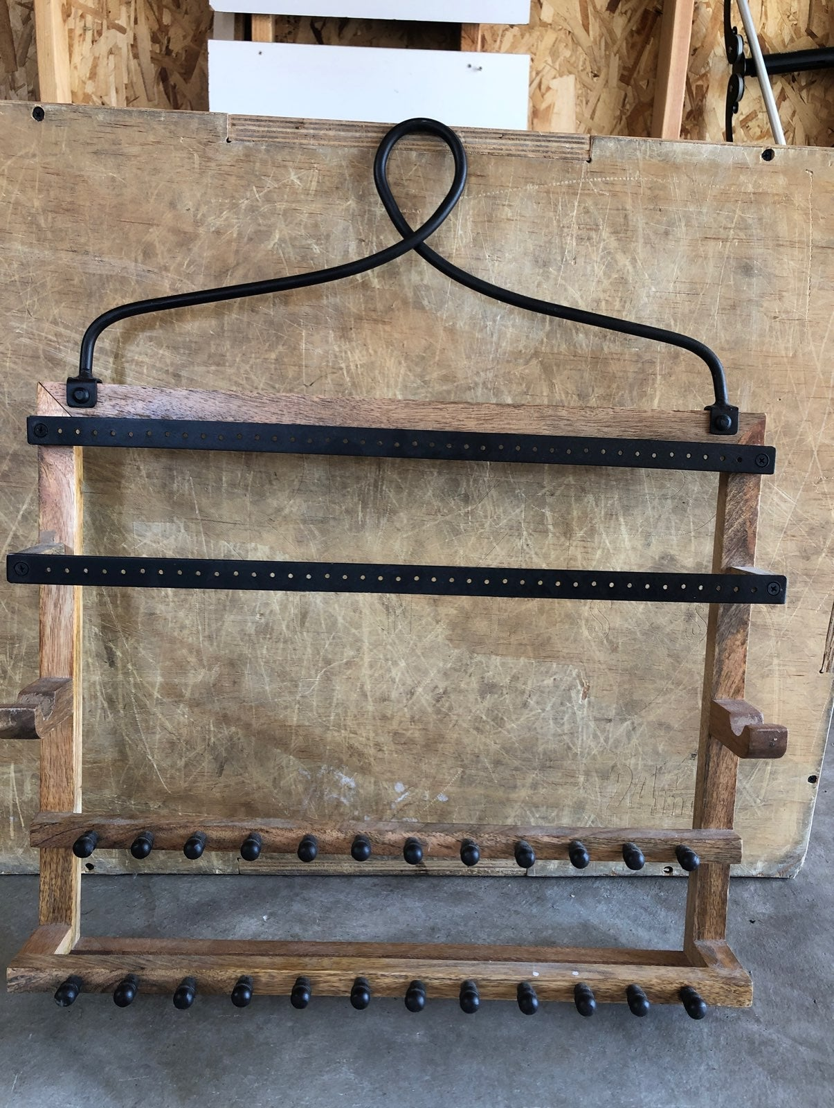Pottery barn jewelry display / holder