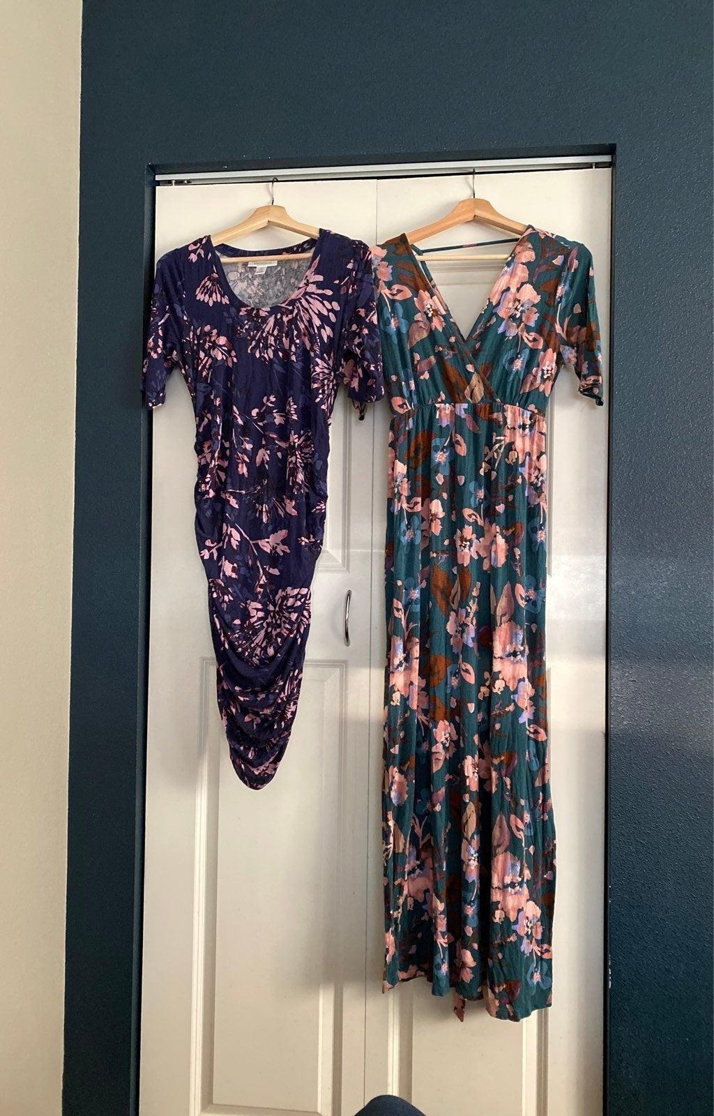 2 Maternity Dresses size medium