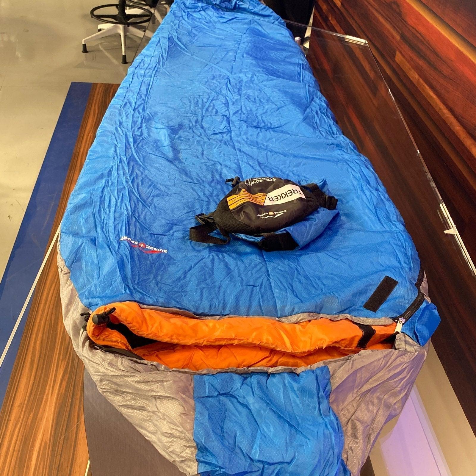 "+30° Mummy Sleeping Bag, 84"" x 33"""
