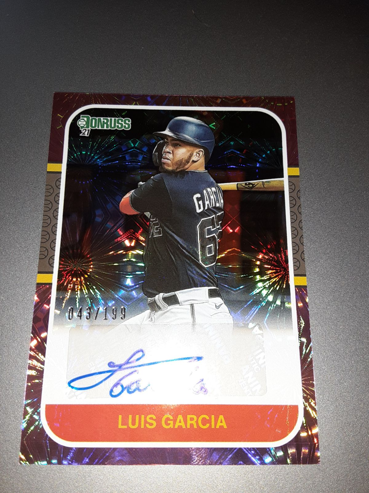 2021 donruss baseball cards auto numbere