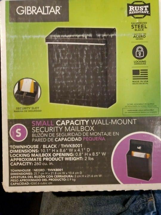 SM Capacity Wall Mount Security Mailbox
