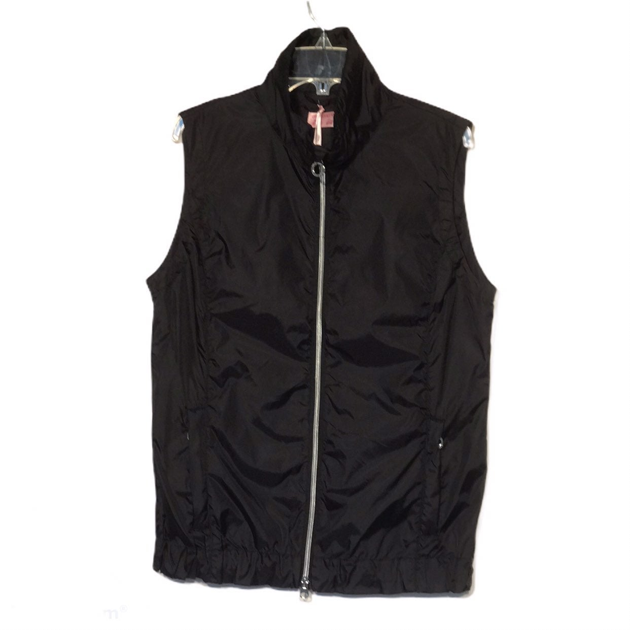 Girls Golf Black Windbreaker Golf Vest